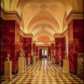 Statuary Hall by Fred Coleman - Buildings & Architecture Statues & Monuments ( north sea, statue, hall, russia, color, st petersburg, 2012, architectural, museum, hermitage, statutary hall, baltic,  )