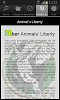 Screenshot of Animals' Liberty - Wer macht's