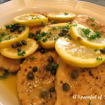 Mahi-mahi with Lemon-Caper Sauce
