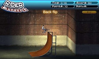 Screenshot of Crazy BMX Biker