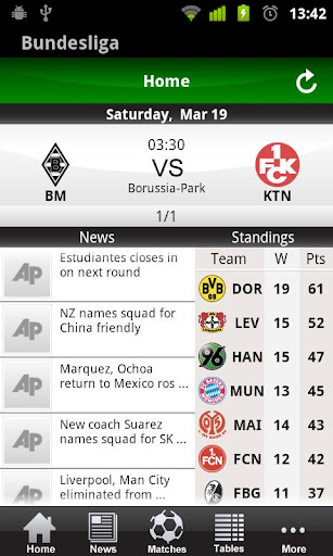 German Bundesliga 2011 12