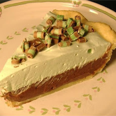 Creamy Layers Chocolate-Mint Pie