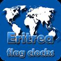 Eritrea flag clocks icon