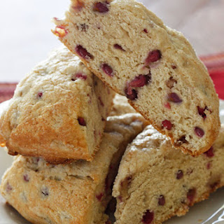 Low Fat Pomegranate Scones