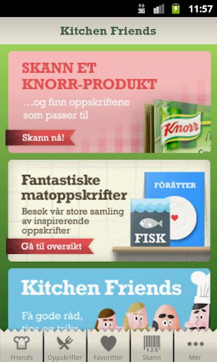 Kitchen Friends NO