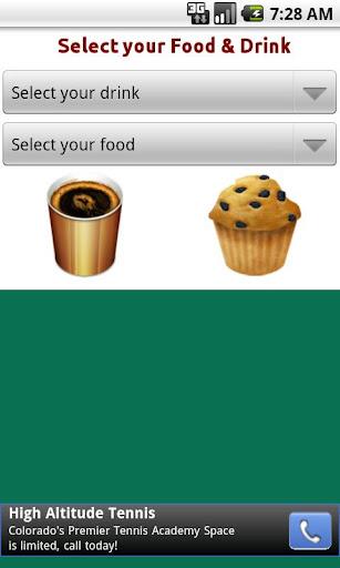 My Starbucks Calorie