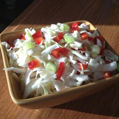 Bell Pepper-Cabbage Salad