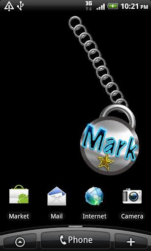 Mark Name Tag