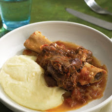 Slow-Cooked Lamb Shanks and Tomatoes