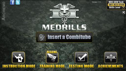 Medrills: Army Combitube