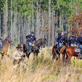 Officers by Philip Molyneux - News & Events Entertainment ( officers, equine, horses, civil war, calvary,  )