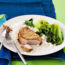 Sesame Pork Chops