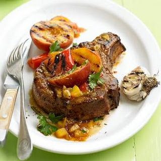 Peach-Glazed Pork Chops