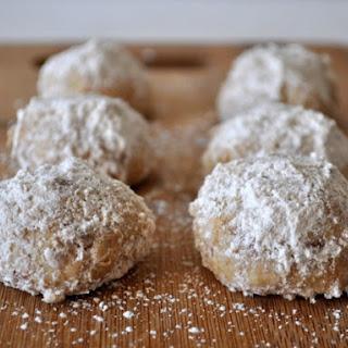 Sugar Cinnamon Wedding Cookies Recipes