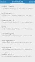 Screenshot of Hacking Tutorials 2.0