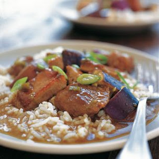 Sichuan Braised Pork with Eggplant
