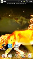 Screenshot of Fire Horse Live Wallpaper