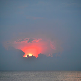 sunrise by Clara Scarano Scubla - Novices Only Landscapes ( blue sky, sunrise )