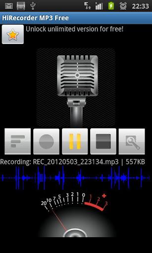 HiRecorder MP3 - Free