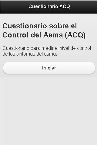 Cuestionario ACQ