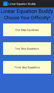 Linear Equation Buddy - screenshot