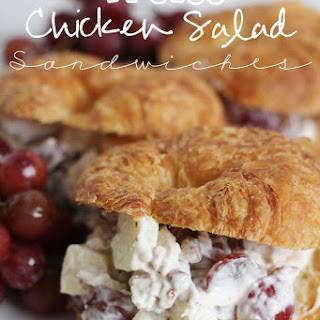 Chicken Salad With Grapes And Apples Sandwiches Recipes
