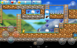 Screenshot of Dig And Run Raccoon!