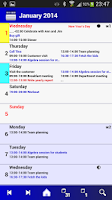 Screenshot of Calendar Pro/en - full version