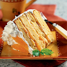 Orange-Almond Cream Cake