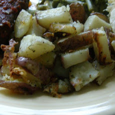 Garlic Herbed Roasted Red Skin Potatoes