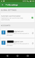 Screenshot of Accounts Sync Profiler