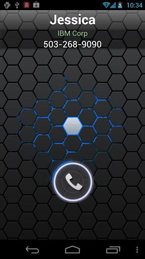 RocketDial CallerID Black Ring
