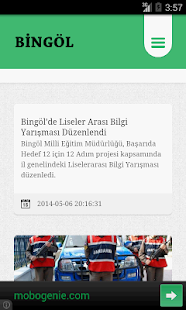 Bingöl Haber - screenshot