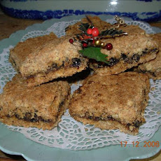 Christmas Mincemeat and Oat Squares/Slices