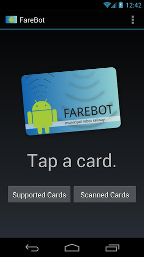 FareBot IC カードリーダー