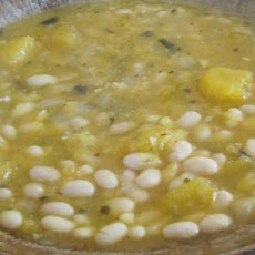 White Bean & Pumpkin Soup (Veg)