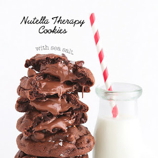 Nutella Therapy Cookies