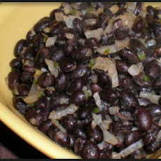 Black Bean Burrito Filling or Side Dish