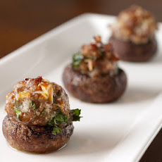 Sausage Stuffed Mushrooms smaller edition