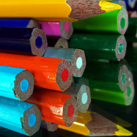 Colour logs by Asif Bora - Artistic Objects Education Objects