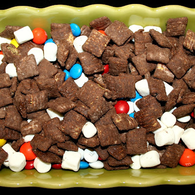 Brownie Biscoff Puppy Chow