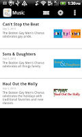 Screenshot of Boston Gay Men's Chorus