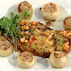 Northwestern Stuffed Fish with Baked Onions