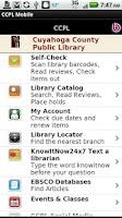 Screenshot of CCPL Mobile