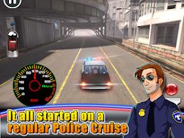 Screenshot of Highway Smash Cop Rider