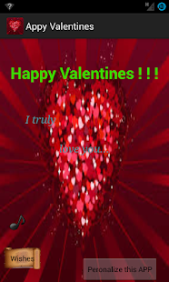 Appy Valentines - screenshot