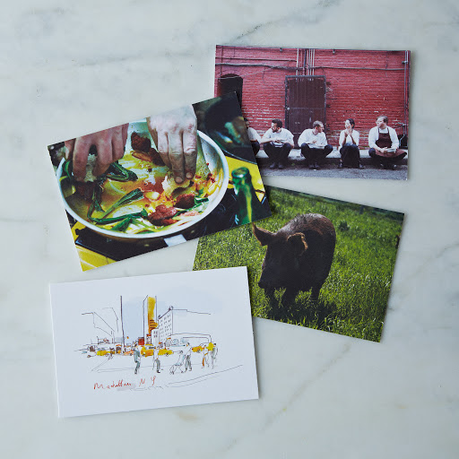 ACQTASTE Magazine with 4 Limited Edition Postcards