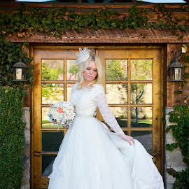 Old Fashioned Bride by Kylie Nielson Howes - Wedding Bride ( bridals, wedding, old fashioned, wedding photographer, bride )