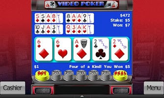 Screenshot of Video Slots and Poker