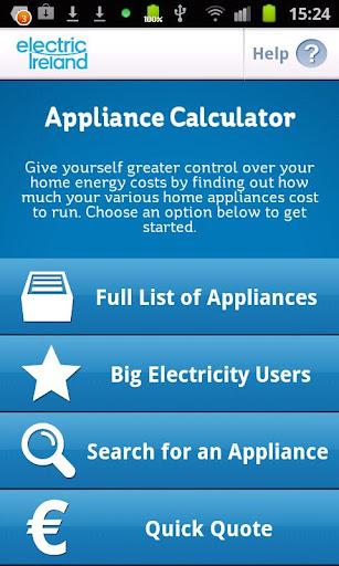Appliance Calculator